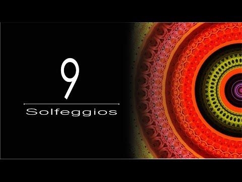 All 9 Solfeggio Frequencies - God Tone - Todas as Músicas Chakra - Miracle tone