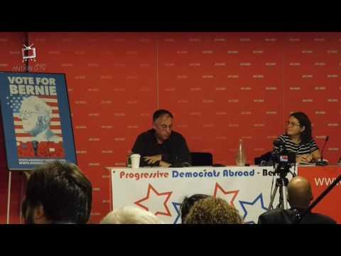 Video – 13 October 2016: US elections – how should progressives vote?