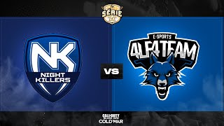 NK eSports x 4LF4 TEAM - Série A Season 1 | Call of Duty: Cold War