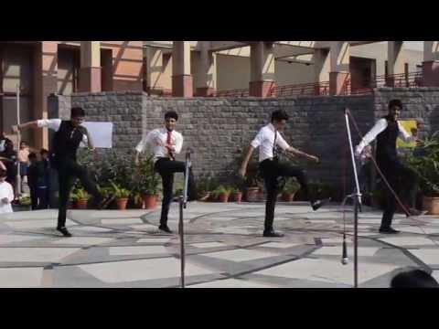 Grade 11 Sanskriti School Boys Dance