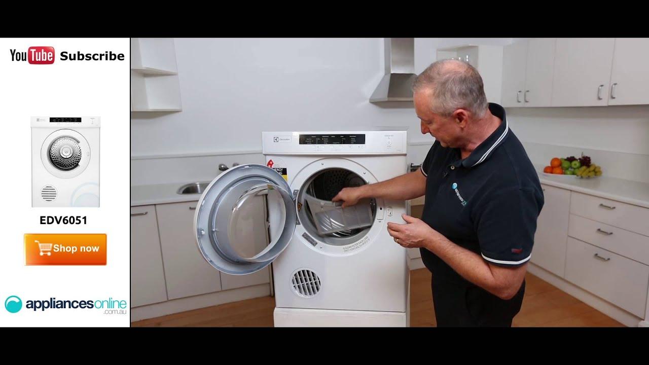 electrolux dryer 6 5kg. edv6051 6kg electrolux dryer reviewed by expert - appliances online 6 5kg