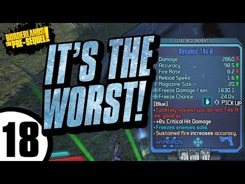 THIS THING IS EMBARRASSING! Aurelia Day 18 - Borderlands: The Pre-Sequel