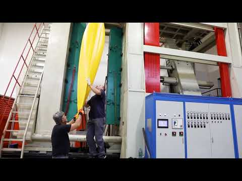 SeaBird Designs kayaks blow moulding production