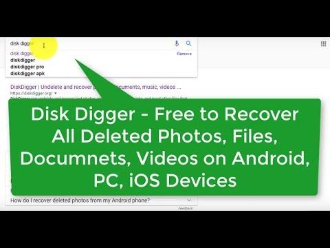 diskdigger freeware download
