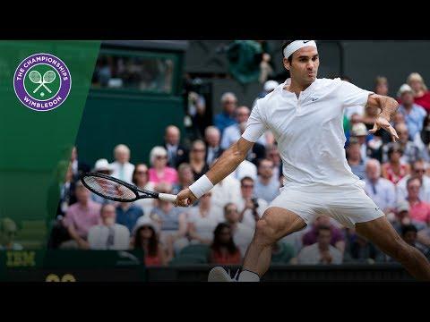 Wimbledon 2017 - Best shots of day 13