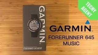 Unboxing Garmin Forerunner 645 Music