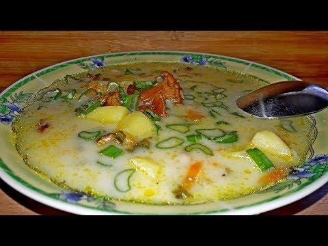 Как приготовить ну очень вкусный суп из Лисичек