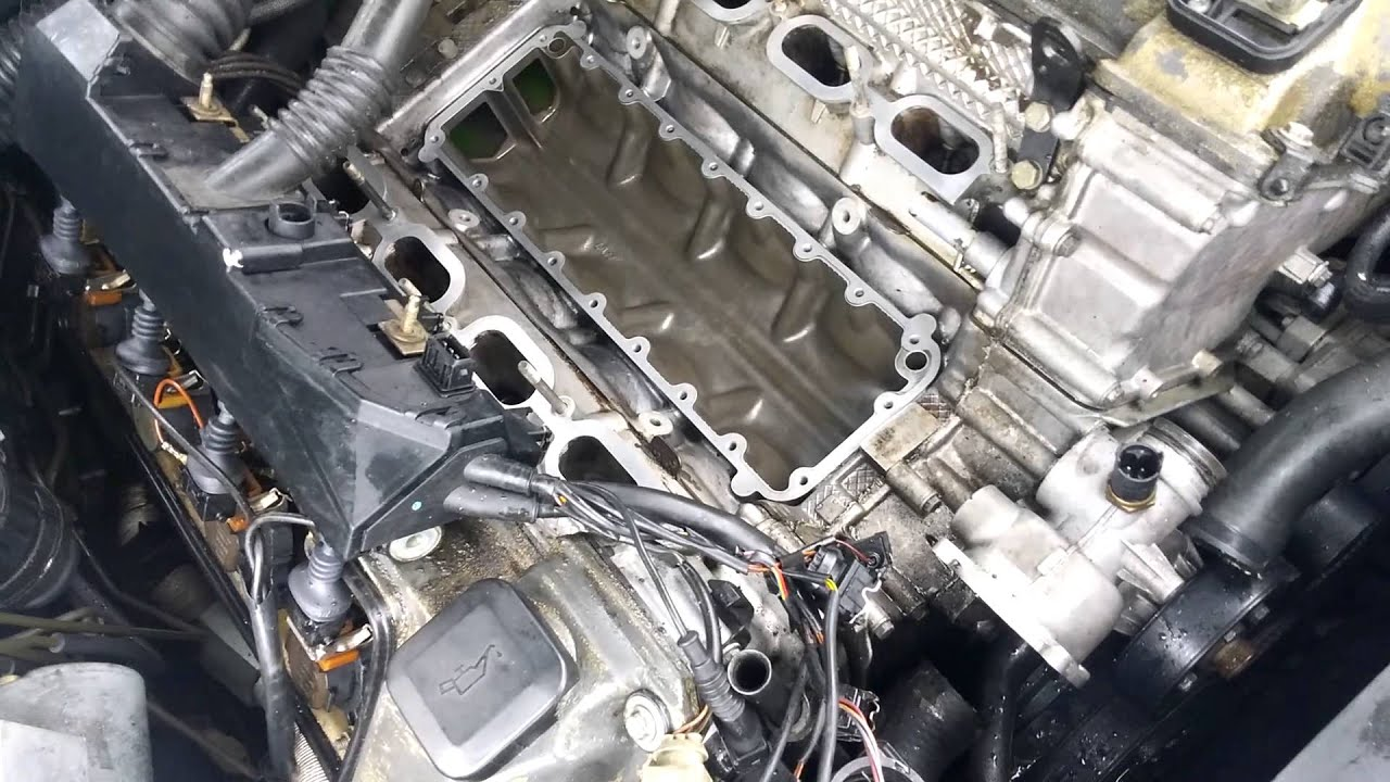 small resolution of 98 bmw 740il coolant leak repair