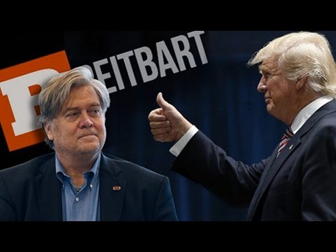 """White Supremacist, Anti-Semitic, Islamophobe"" Stephen Bannon as Trump's Chief Strategist"
