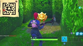 """""""Follow the treasure map found in Retail Row"""" Location Fortnite Week 7 Challenges!"""
