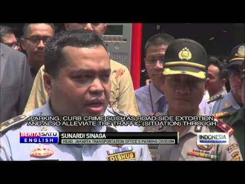 Jakarta Installs 90 Electronic Parking Meters Around Kelapa Gading