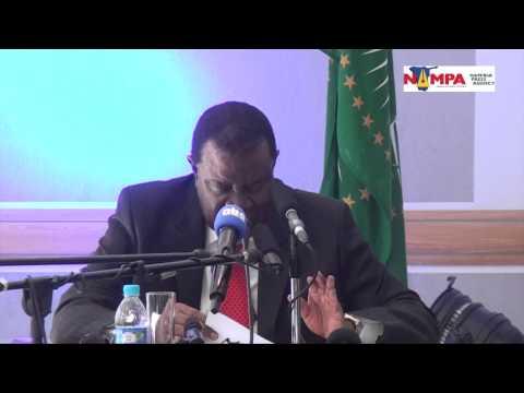 NAMPA: WHK Geingob brings back 'rivals' Iivula Ithana and Ekandjo 02 Feb 2015