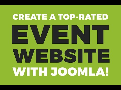 Joomla Event Template With Easy To Use Free Joomla Event Calendar