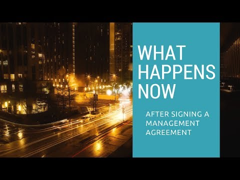 What Happens After You Sign a Management Agreement in Columbus, GA