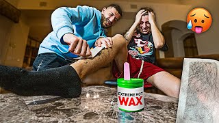 DON'T Get The Question Wrong OR You Get Waxed  Challenge