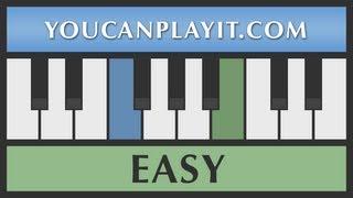 Heart and Soul - Piano Tutorial - EASY (Tom Hanks Piano Scene on BIG)