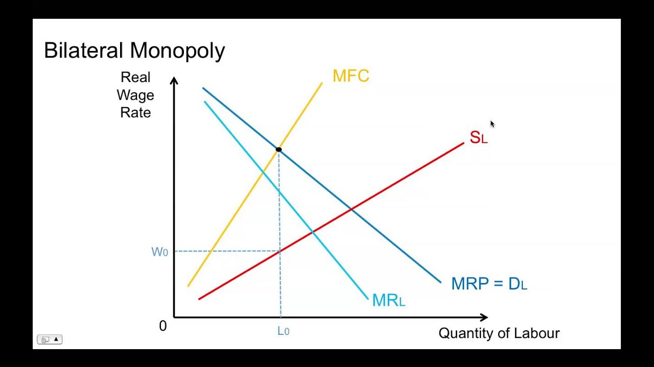 Bilateral Monopoly Diagram