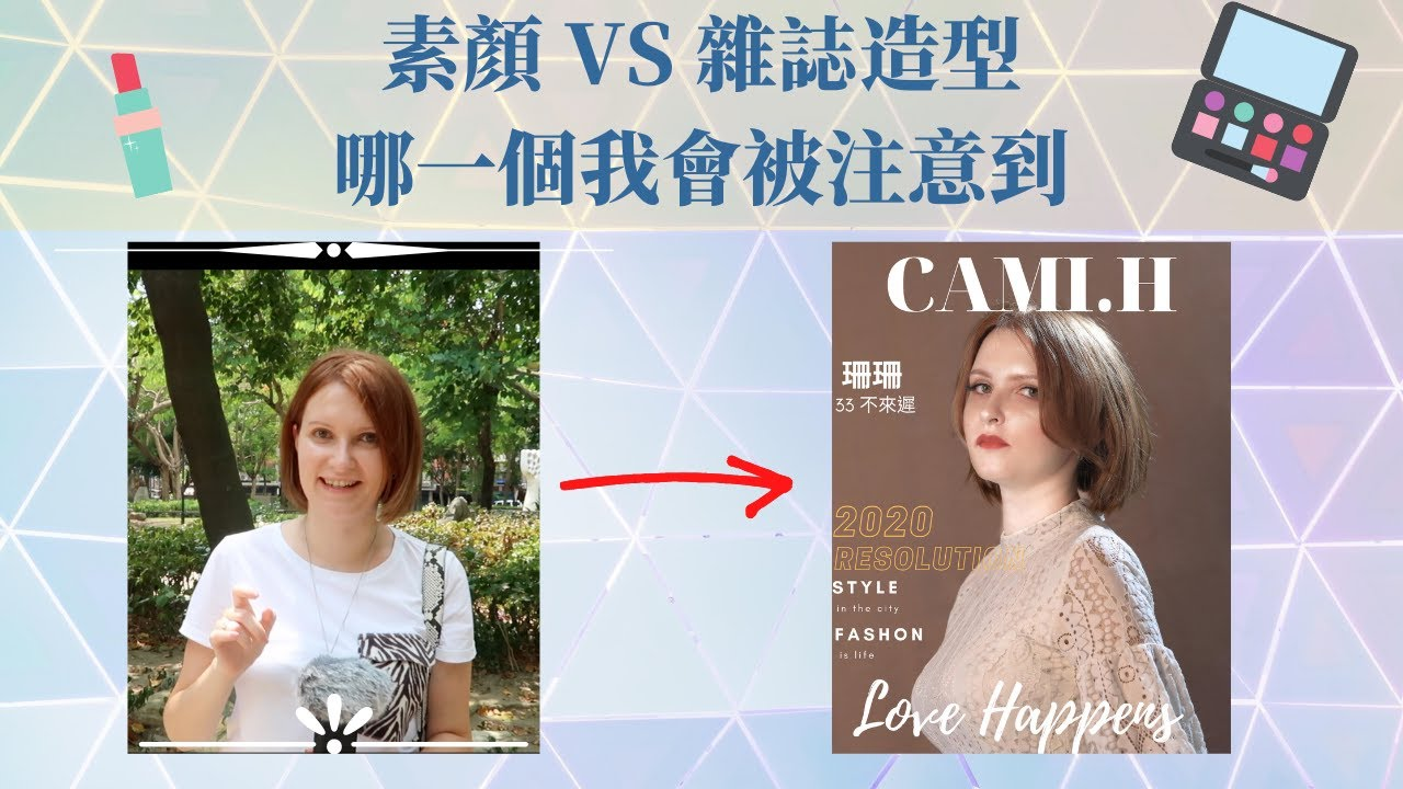 社會實驗。外表能決定一切嗎?再次考驗台灣人人情味!在別人眼裡素顏和打扮完差多少?