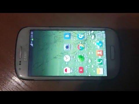Samsung S3 mini i8190 разборка и замена дисплея - YouTube