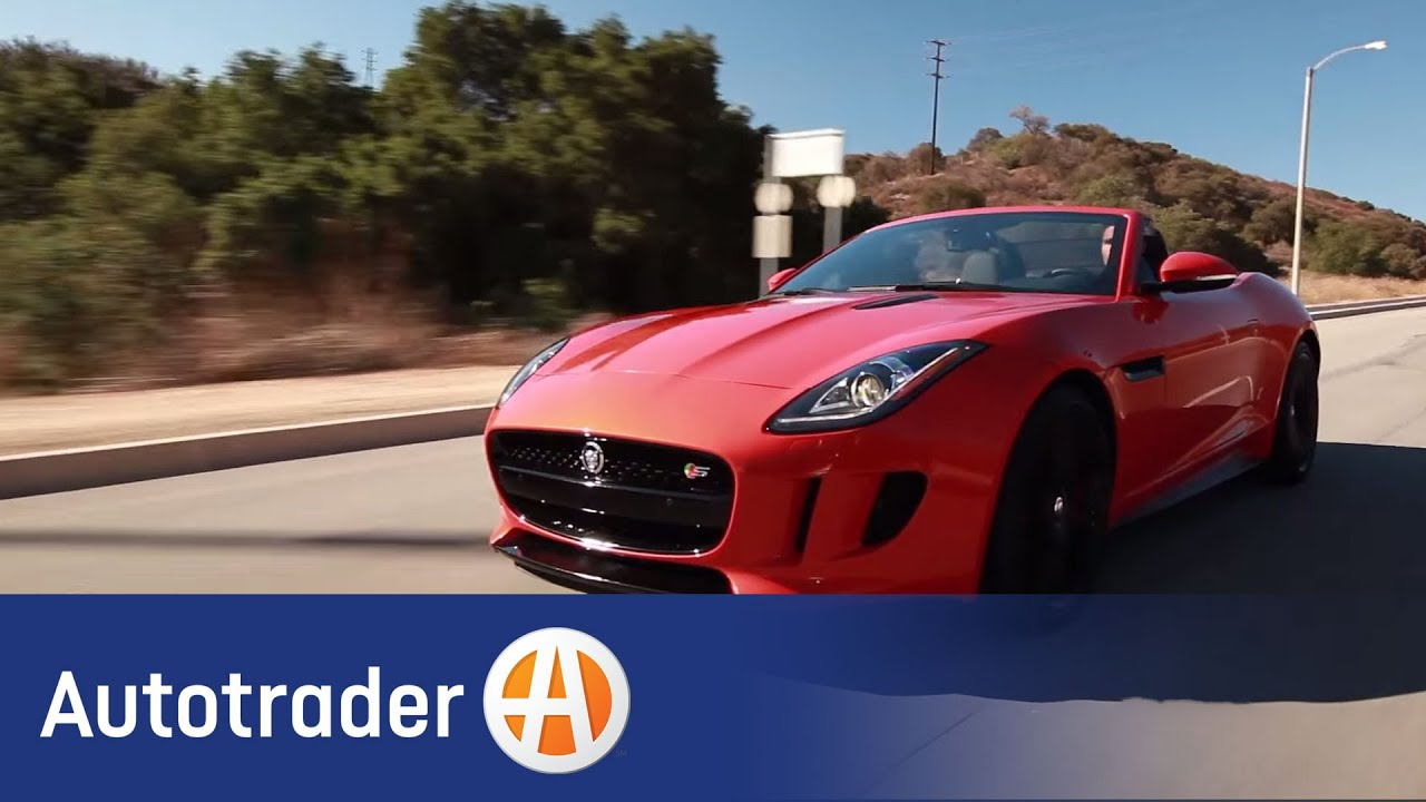 2014 Jaguar F-Type - Convertible | 5 Reasons to Buy | AutoTrader.com - YouTube