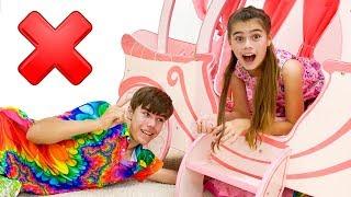 Nastya và Artem một câu chuyện bí ẩn về một ngôi nhà với đồ chơi