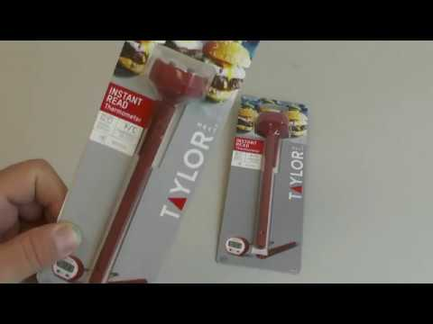 Taylor Mrkt 9840 Instant Read Thermometer Unboxing Youtube