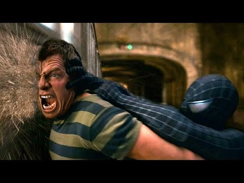 Spider-Man vs Sandman - Subway Fight Scene - Spider-Man 3 (2007) Movie CLIP HD