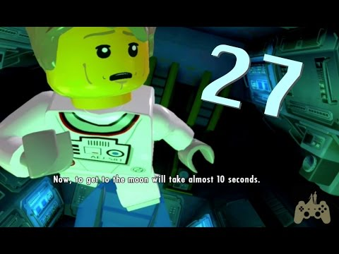 LEGO City: Undercover Walkthrough Gameplay Part 27 - Fly Me to the Moon