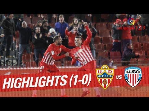Resumen de UD Almería vs CD Lugo (1-0)