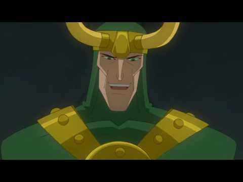БОЙ: Халк против Тора.