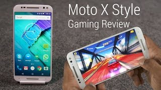 Moto X Style Gaming Review /w Benchmarks & Temp Check!