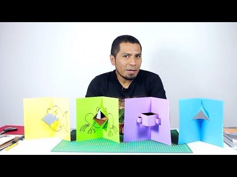Pop-Up Tutorial 02 - Paralelogramos y Triángulos