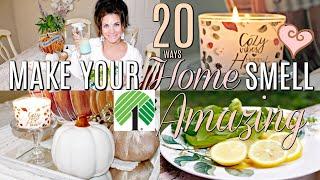 🍁20 WAYS TO MAKE YOUR HOME SMELL AMAZING & YUMMY /DOLLAR TREE DIYS & FEBREEZE🍁