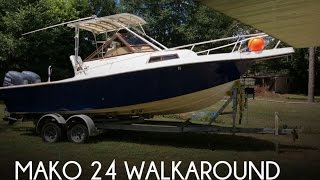 [UNAVAILABLE] Used 1989 Mako 24 Walkaround in Pensacola, Florida