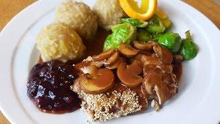 Vegan Weihnachten - Bratensoße, Knödel, Rotkohl Rezept