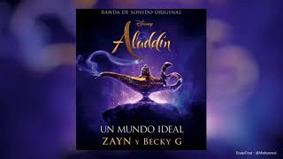 Becky G Ft. Zayn Un Mundo Ideal Audio 2019.mp3