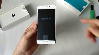 Meizu M6 Note 3/32 Silver Розпакування 2018