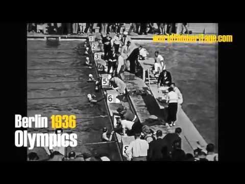 Berlin 1936 - Olympics - Olympia - swimming - high diving - waterball