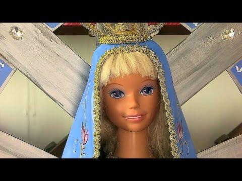 Barbie y Ken en versión santificada