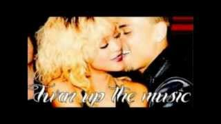 Rihanna Ft. Chris Brown - Turn Up The Music (Clean Remix) [Lyric Video] HD