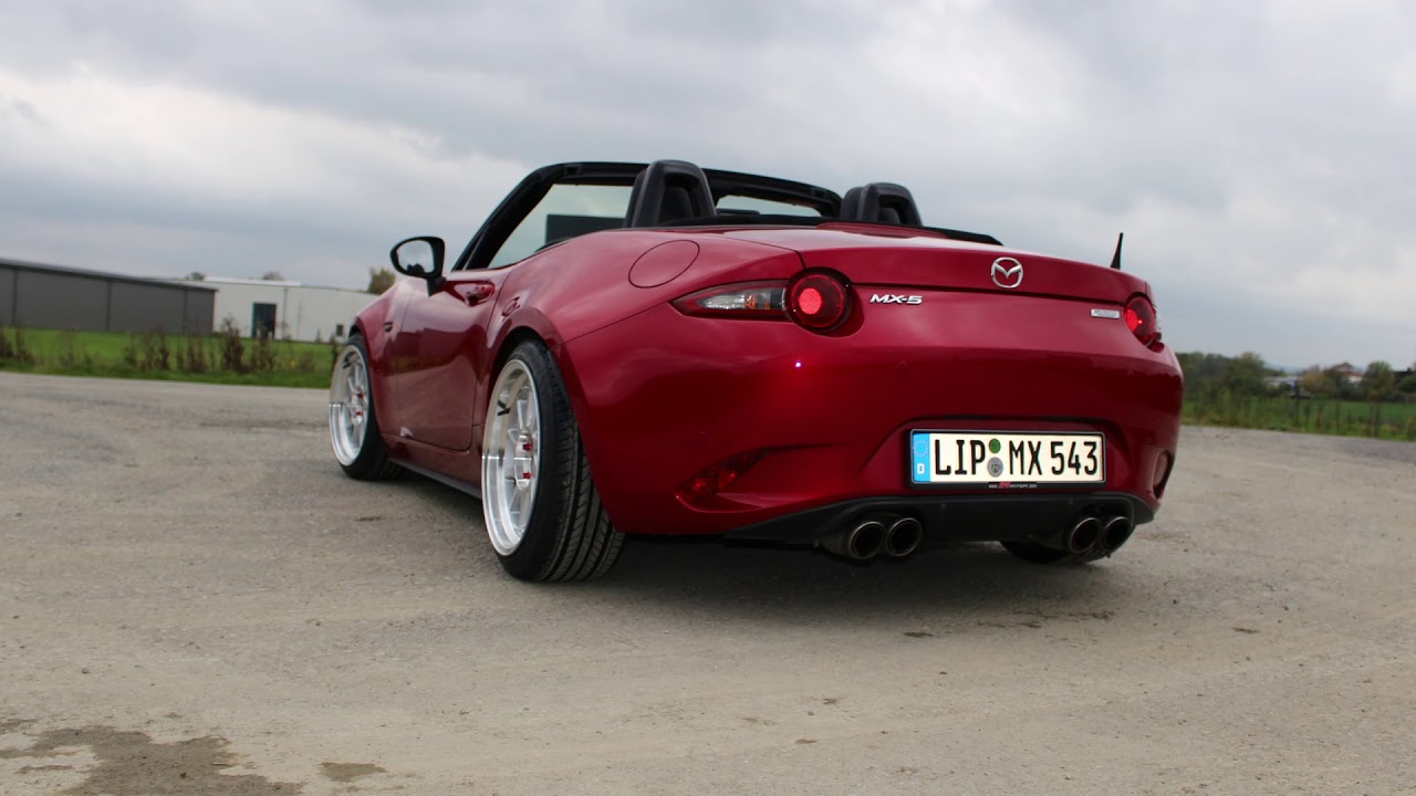 mazda mx 5 nd tuned with japan racing jr26 17x9 youtube. Black Bedroom Furniture Sets. Home Design Ideas