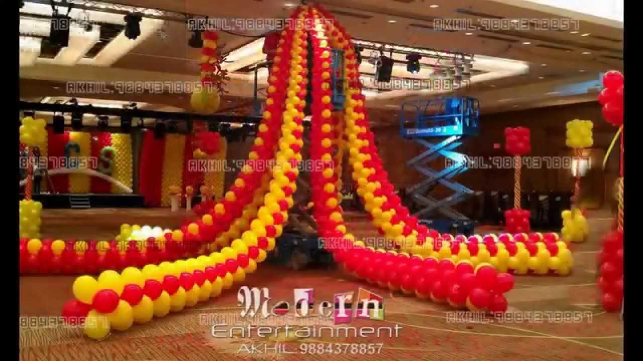 Balloon decoration courses in chennai