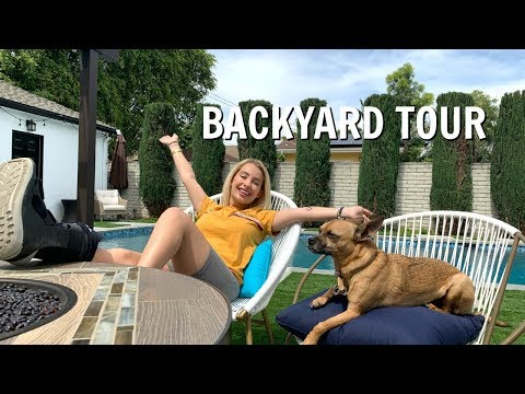 HOUSE BACKYARD TOUR