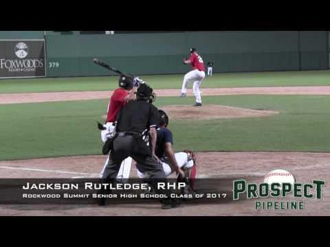 Jackson Rutledge Prospect Video 2, RHP, Rockwood Summit Senior High School