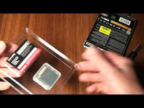 Обзор карты памяти SanDisk SDXC Extreme Pro 128GB из Розетка