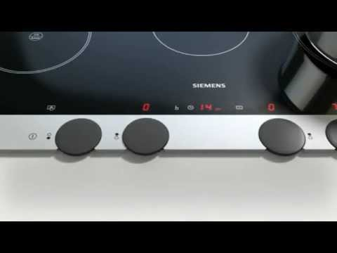 siemens kochfelder mit disccontrol erh ltlich bei moebelplus youtube. Black Bedroom Furniture Sets. Home Design Ideas