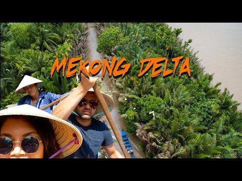 Exploring MEKONG DELTA in Vietnam / 4K Travel Film