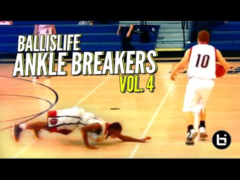Ballislife Ankle Breakers Vol. 4!! CRAZY Ankle Breakers & Crossovers!!! IT'S BACK!