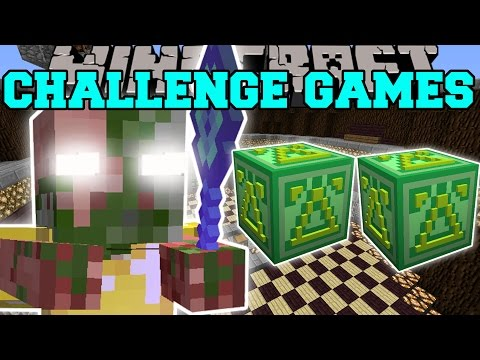 Minecraft: BACON OVERLORD CHALLENGE GAMES  Lucky Block Mod  Modded MiniGame