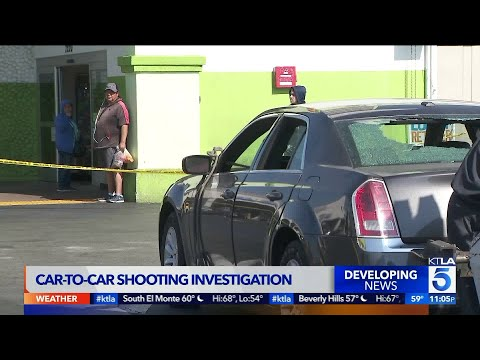 3 People Wounded in South L.A. Car-to-Car Shooting